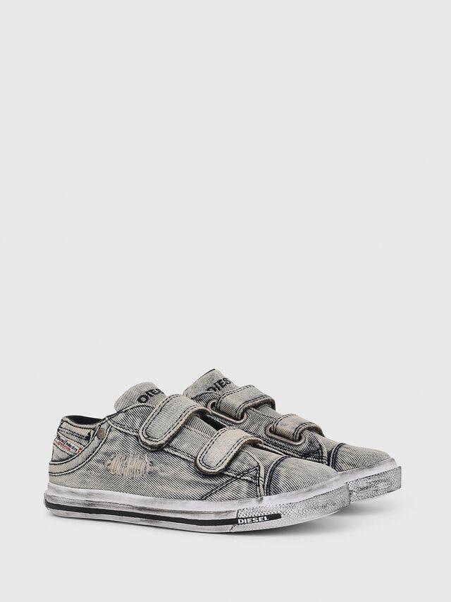 Diesel - SN LOW 11 STRAP  DEN, Grey Jeans - Calzado - Image 2
