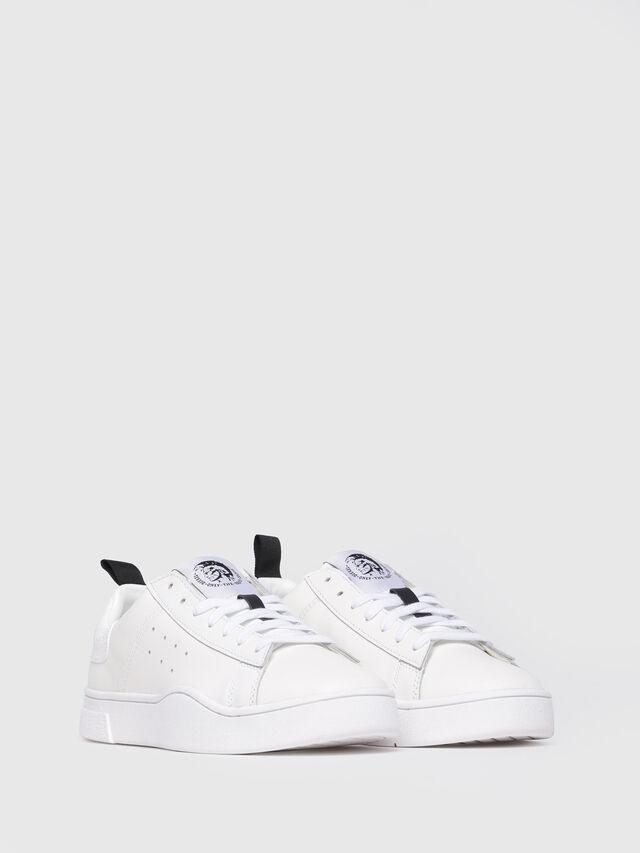 Diesel - S-CLEVER LOW W, Blanco - Sneakers - Image 2