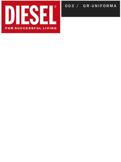 Diesel - GR02-P303, Rojo/Blanco - Shorts - Image 2