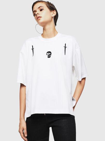 Diesel - TELIX-A, Blanco - Camisetas - Image 1