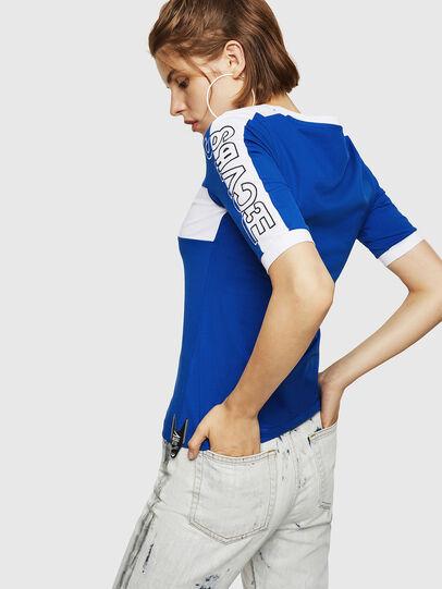 Diesel - T-HEIA-B, Azul Brillante - Camisetas - Image 2