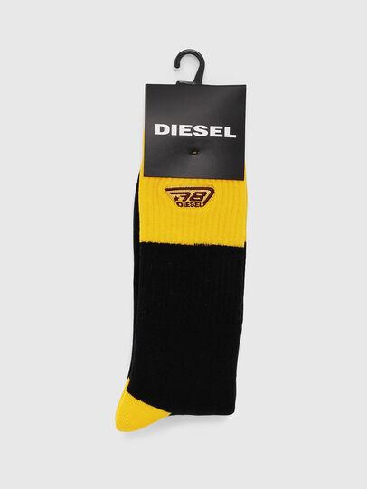 Diesel - SKM-RAY, Negro/Amarillo - Calcetines - Image 2
