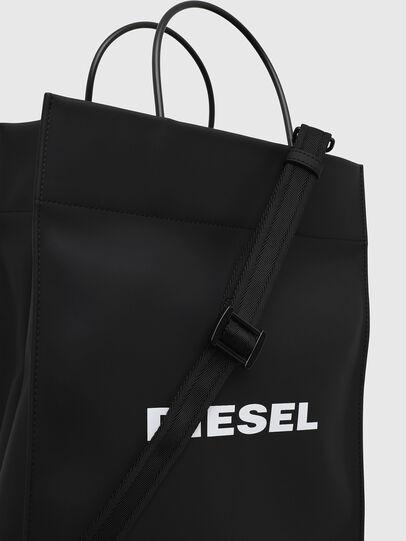 Diesel - SAKETTONE, Negro - Bolsos Shopper y Al Hombro - Image 4