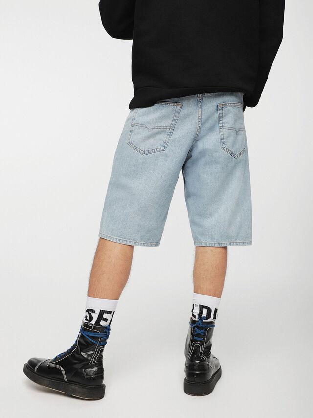 Diesel - KEESHORT, Azul Claro - Shorts - Image 2