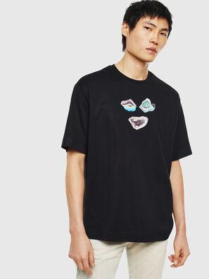TEORIALE-A, Negro - Camisetas