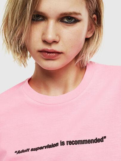 Diesel - T-JUST-NEON, Rosa - Camisetas - Image 6