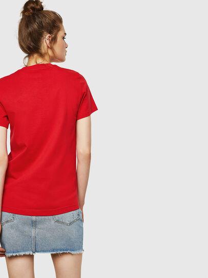 Diesel - T-SILY-ZF, Rojo Fuego - Camisetas - Image 2