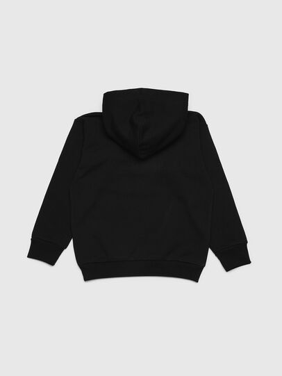 Diesel - SDIVISION OVER, Negro - Sudaderas - Image 2