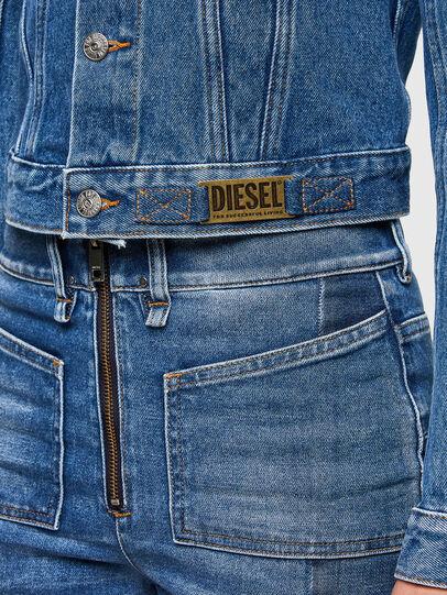 Diesel - DE-LIMMY, Azul medio - Chaquetas de denim - Image 4