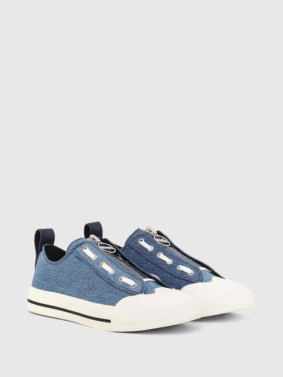 Diesel - S-ASTICO LZIP W, Azul - Sneakers - Image 2