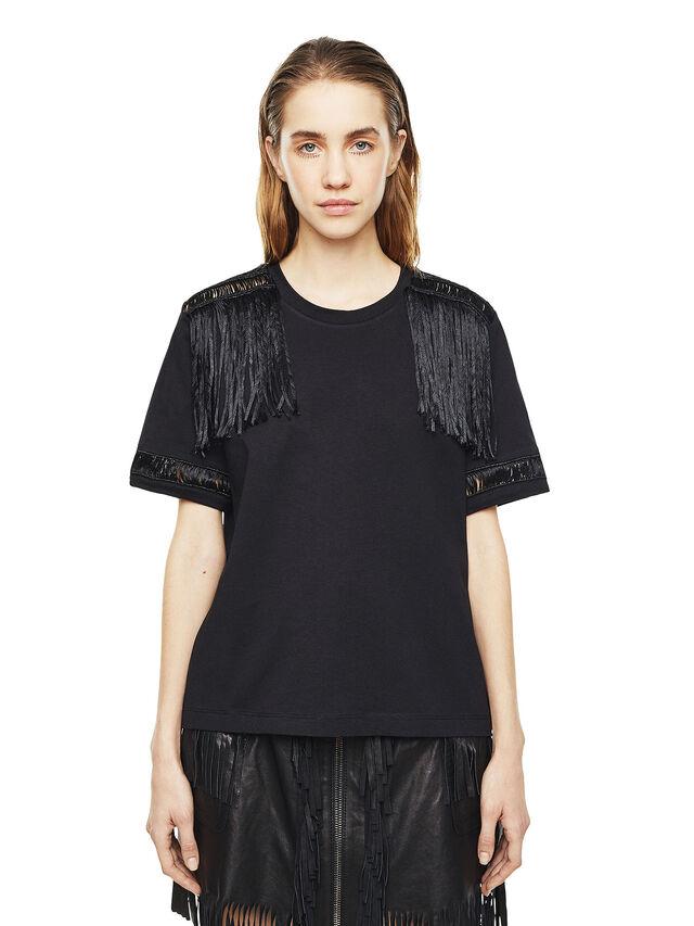 Diesel - TREENA, Negro - Camisetas - Image 1