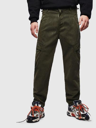 Diesel - D-Krett JoggJeans® 069LX, Verde Militar - Vaqueros - Image 1
