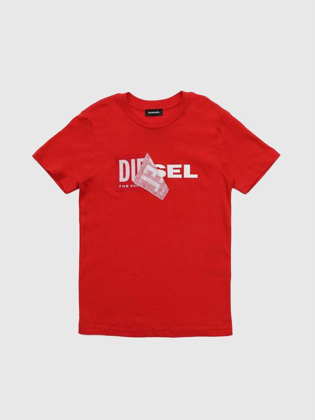 TDIEGO, Rojo - Camisetas y Tops