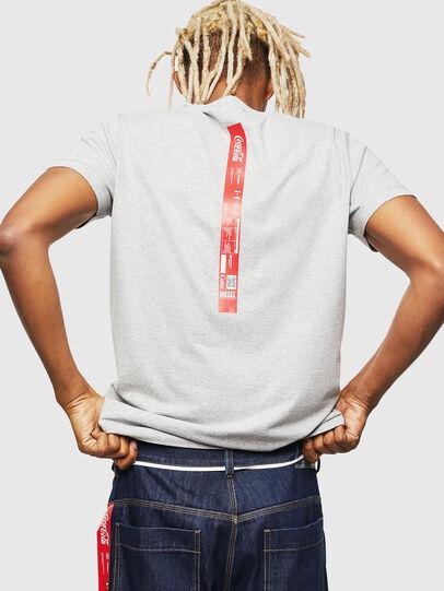 Diesel - CC-T-DIEGO-COLA, Gris - Camisetas - Image 3