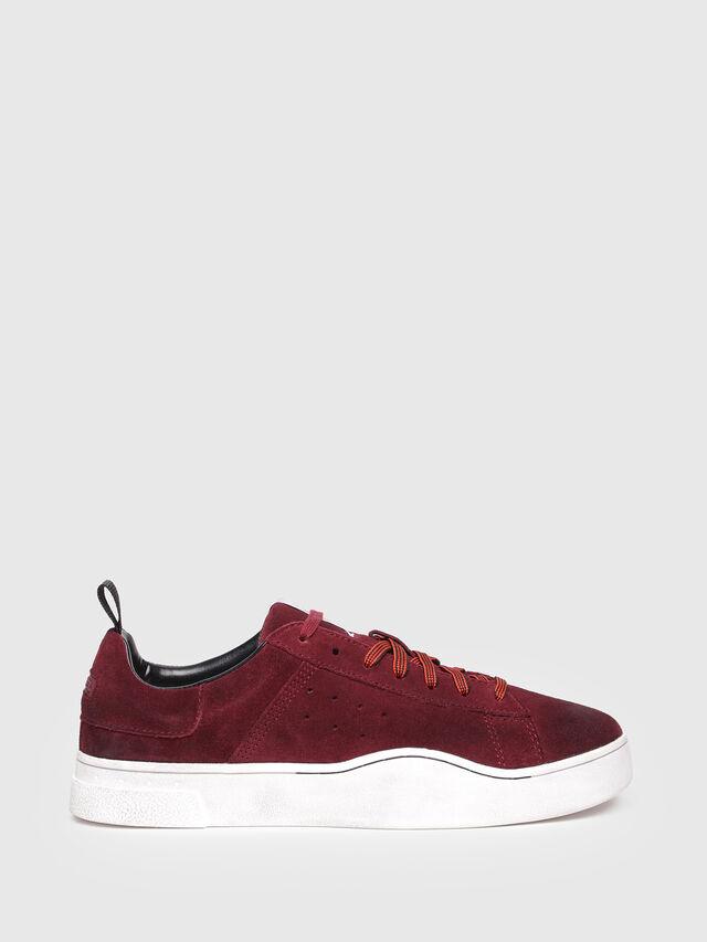 Diesel - S-CLEVER LOW, Rojo Vino - Sneakers - Image 1