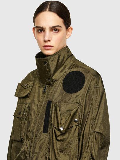 Diesel - C-CORAL, Verde Militar - Camisas - Image 3