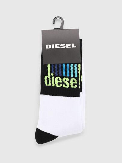 Diesel - SKM-RAY, Blanco/Negro - Calcetines - Image 2