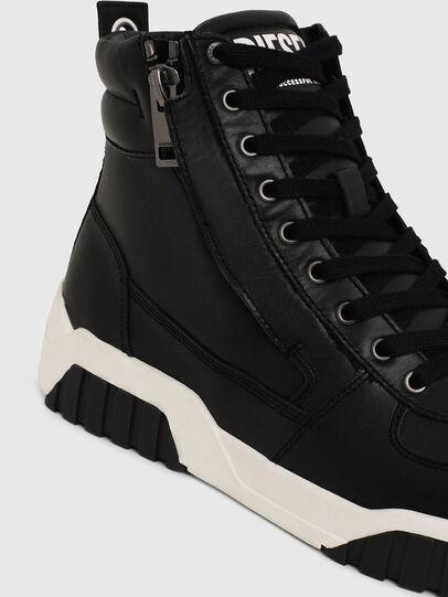 Diesel - S-RUA MID, Negro - Sneakers - Image 4