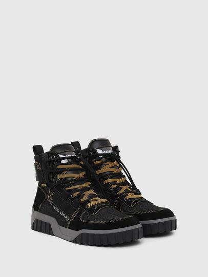 Diesel - S-RUA MID SP, Negro - Sneakers - Image 2