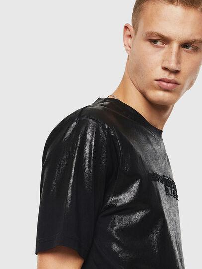 Diesel - T-JUST-J1, Negro - Camisetas - Image 3