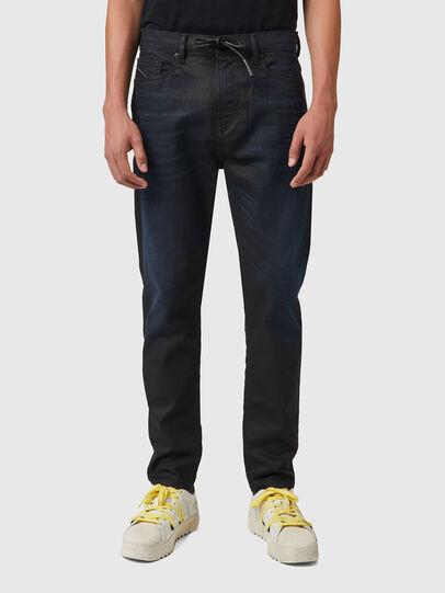 Diesel - D-VIDER JoggJeans® 069XN, Negro/Gris oscuro - Vaqueros - Image 1