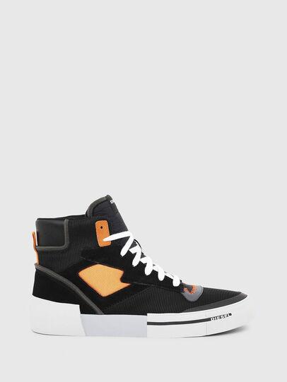 Diesel - S-DESE MS, Negro/Naranja - Sneakers - Image 1