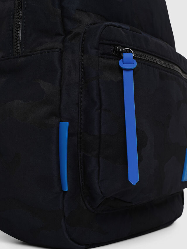 Diesel - F-DISCOVER BACK, Azul - Mochilas - Image 3