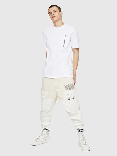 Diesel - T-JUST-POCKET-COPY, Blanco - Camisetas - Image 5