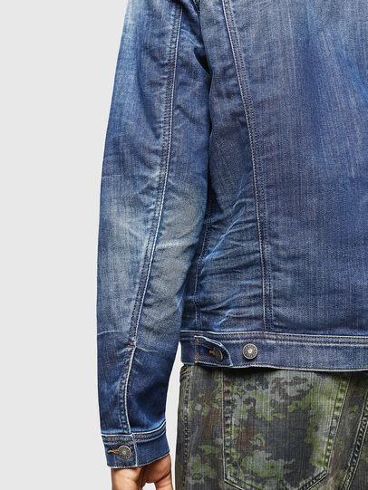 Diesel - NHILL-TW, Blue Jeans - Chaquetas de denim - Image 4