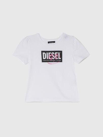 Diesel - TRIDGEB-R, Blanco - Camisetas y Tops - Image 1