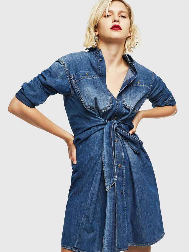 DE-BLEU, Azul medio - Vestidos