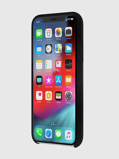 Diesel - DIESEL PRINTED CO-MOLD CASE FOR IPHONE XS MAX, Negro - Fundas - Image 3