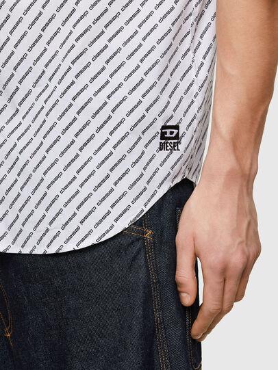 Diesel - S-RILEY-SHO-KA-C, Blanco - Camisas - Image 4