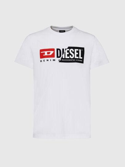 Diesel - T-DIEGO-CUTY, Blanco - Camisetas - Image 1