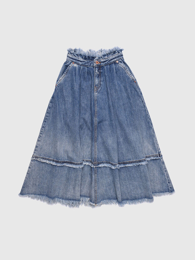 GLULABY, Blue Jeans - Faldas