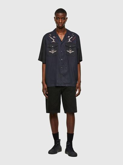 Diesel - D-MITCH-SP, Negro - Camisas - Image 5
