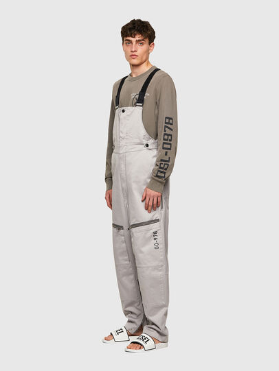 Diesel - P-JUMP-A, Gris Claro - Pantalones - Image 5