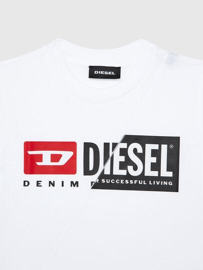 Diesel - TDIEGOCUTYB-R, Blanco - Camisetas y Tops - Image 3