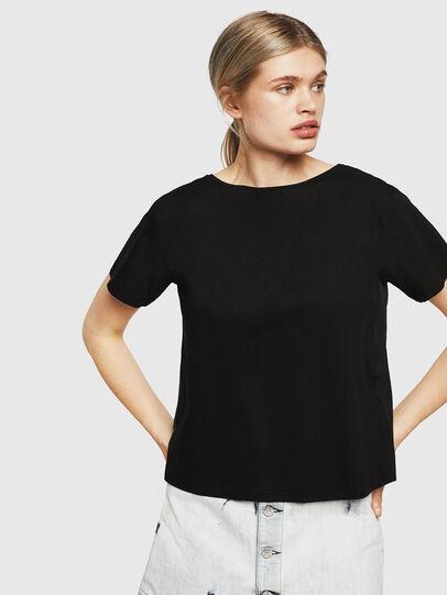 Diesel - T-RYLY, Negro - Camisetas - Image 1