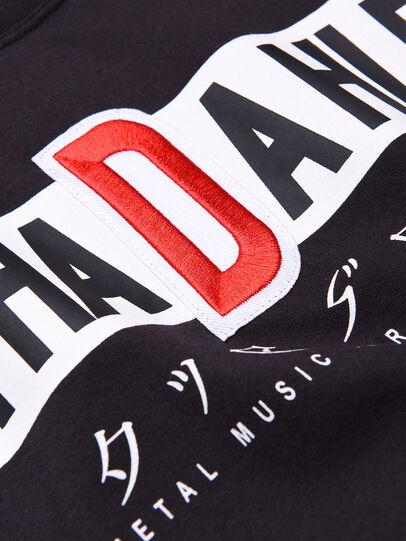 Diesel - TJUSTYZ OVER, Negro - Camisetas y Tops - Image 3
