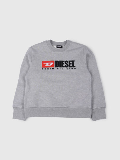 Diesel - SCREWDIVISION OVER, Gris - Sudaderas - Image 1