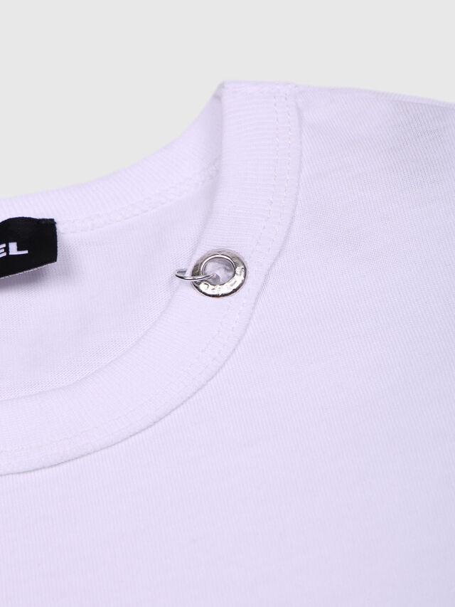 Diesel - TOCLE, Blanco - Camisetas y Tops - Image 3