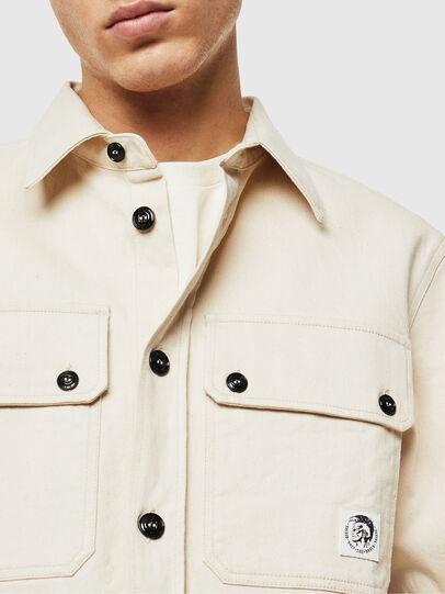 Diesel - S-JESSY, Blanco - Camisas - Image 3