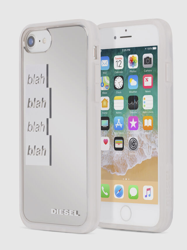 Diesel - BLAH BLAH BLAH IPHONE 8/7/6s/6 CASE, Blanco - Fundas - Image 1