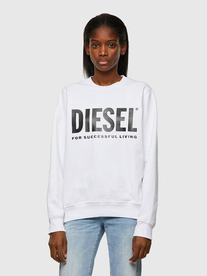 Diesel - F-ANGS-ECOLOGO, Negro/Blanco - Sudaderas - Image 1