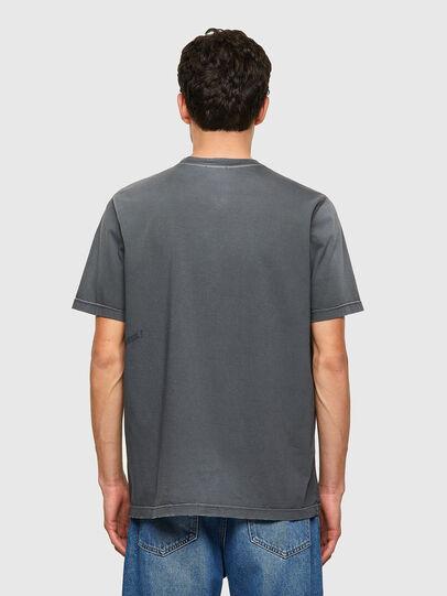 Diesel - T-JUST-B64, Gris - Camisetas - Image 2