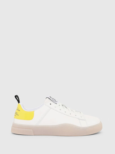 Diesel - S-CLEVER LOW LACE W, Blanco/Amarillo - Sneakers - Image 1
