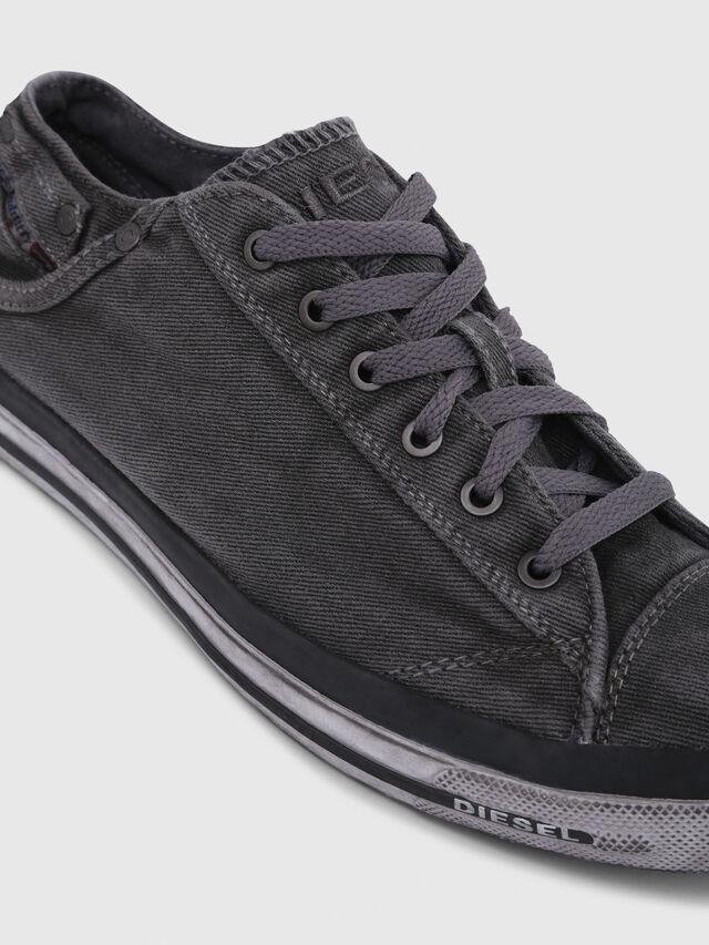 Diesel EXPOSURE LOW I, Gris Metal - Sneakers - Image 5