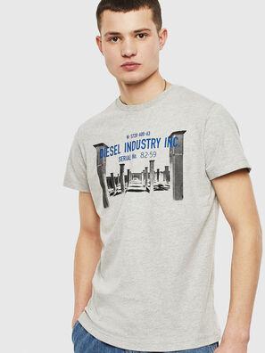 T-DIEGO-S13, Gris - Camisetas