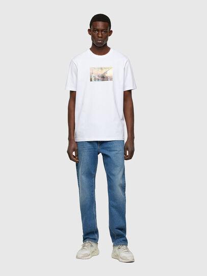 Diesel - T-JUST-A34, Blanco - Camisetas - Image 5
